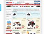 Minibike, Minicross, Dětské čtyřkolky, Helmy, ATV, Koloběžky, Čtyřkolka   www. esell. cz