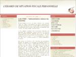 L'examen contradictoire de situation fiscale personnelle (ESFP)