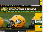 Official website of the Edmonton Eskimo Football Club, Canadian Football League