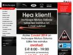 Inchcape Motors Estonia OÜ | Mazda, Land Rover, Jaguar - muuml;uuml;k ja hooldus