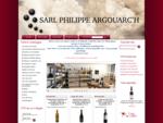 Cave Philippe Argouarc'h espace vin et spiritueux de vente en ligne à Maiche