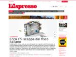 l'Espresso online offre contenuti esclusivi per il web e una ricca selezione di articoli estra
