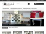 Mobilier en inox, décoration, crédence, aménagement - Esprit Métal