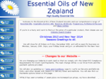 Essential Oils of New Zealand