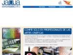 Jauja - Comunicació Gràfica | Todo en diseño gráfico, imprenta y cartelería