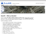 Liftide ja tõstukite tootmine, hooldus ja remont | Estolift