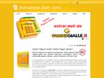 EstrattoreDati. COM - Software Estrazione Dati ed Emailda Pagine Gialle, Facebook