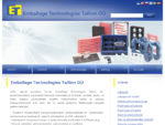 ET-Tallinn - pakendite kohandamine, pakkematerjalid