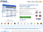 Free Website Design Website Hosting | Youth Sports Website Templates | eteamz
