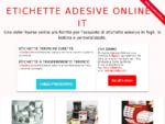 Etichette a4 autoadesive rotonde termiche per cd colorate etichettatrici - Poligraf