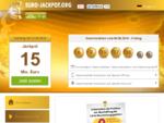 EuroJackpot - Das offizielle EuroLotto auf Euro-Jackpot. org