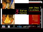 3ο Ευρωπαϊκό Φεστιβάλ Τζαζ στην Αθήνα