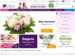 Skicka blommor med Euroflorist blombud, blomsterbud på nätet