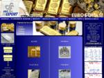 Sad Export - prodaja in nakup zlata, srebra, platine in paladija