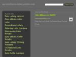 EuroMillions results service. Win bigger prizes. Win more.