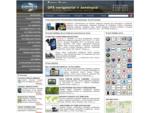 GPS navigacija, GPS žemėlapiai, antiradarai, kliūties jutikliai
