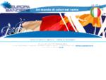 Europa Bandiere Pennoni Bandiere personalizzate Un mondo di colori nel vento