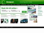 Biludlejning fra Europcar - online booking - billeje