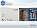 EUROPLAST snc - Infissi in PVC - Porte Tecniche - Intro -
