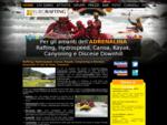 Rafting, Canoa, Kayak, Hydrospeed - Eurorafting, la Natura sul torrente Noce, Val di Sole - Trentino