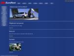 EuroRent Biluthyrning | Billiga hyrbilar i Malmö | Personbilar, minibussar och flyttbilar