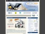 Distribuidor de equipo para concreto, trituración, plantas de concreto, trituradoras, mezcladora