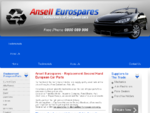 European Car Wreckers, Used Parts for Mercedes, Bmw, Saab, Skoda, Volvo, Peugeot, Citroen, F
