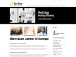fjernvarme biomasse kedler flis halm træpiller EUROTHERM