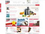 Online-Shop Versandhaus EUROTOPS • Neuheiten aus aller Welt shoppen • 25 Jahre Versandhandel und ein