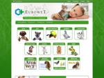 Eurowet - preparaty dla zwierząt - Strona główna