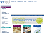 Catering Equipment Hire - Furniture Hire