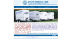 Event Fridge Hire - portable refrigeration trailers.