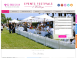 Events Festivals Weddings - Party and Event Equipment Hire Sydney | Events Management Sydney