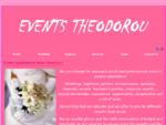Γάμος, Βάπτιση, Οργάνωση εκδηλώσεων - Τήνος Μύκονος Κυκλάδες - Events Theodorou Sotira - Προφίλ