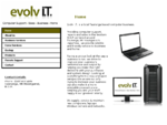 EvolvIT - Computers, Laptops, Support and Repairs. Tauranga Based