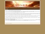 Evonet. cz - tvorba www, aplikací a internetové služby