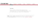 Home | EXAMINA | Revisions-, Treuhand-, und BeratungsgesmbH | Steuerberatungs GmbH & CO KG | A-1030