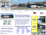 Bus Hire Auckland, Coach Hire, Party Bus Company