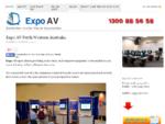 Expo Av Perth | Plasma Hire Perth | Laptop Hire Perth | Av Rentals Perth