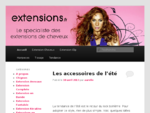 extension de cheveux, extension a clip, postiche cheveux naturel, tissage cheveux