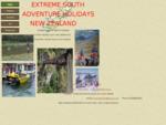 Adventure Holidays New Zealand