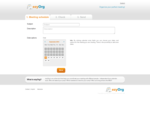 ezyOrg - Online meeting planning, sending invitations, free and easy!