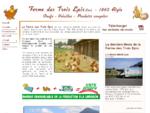 La Ferme des trois épis Sàrl - Aigle - Produits du terroire oeufs et volailles - produits surgelés