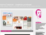 Fabrice Talamoni - Création graphique, maquette, mise en page, identité visuelle, logo, flyer,