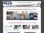 FACH SA - Machines pour les Arts Graphiques