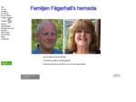Familjen Fägerhalls hemsida