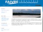 Accueil - Faivre Environnement - Concepteur Constructeur d'Aérateurs pour lagune aérée, effluents