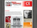 La Falegnameria Rocca Pierangelo produce e posa serramenti in legno, legno alluminio, persiane, porte in legno pregiato, portoncini, porte blindate, ..