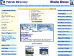 Faliraki Directory, Rhodes Greece, Rhodos, Rodos, Rodi, Griechenland, RHODES CITY, Grecia FALIRAKI