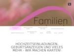 Geburtsanzeige Hochzeitseinladung bestellen - familiensachen. ch